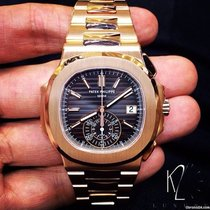 Patek Philippe 5980/1R Nautilus Full Rose Gold 5980/1R