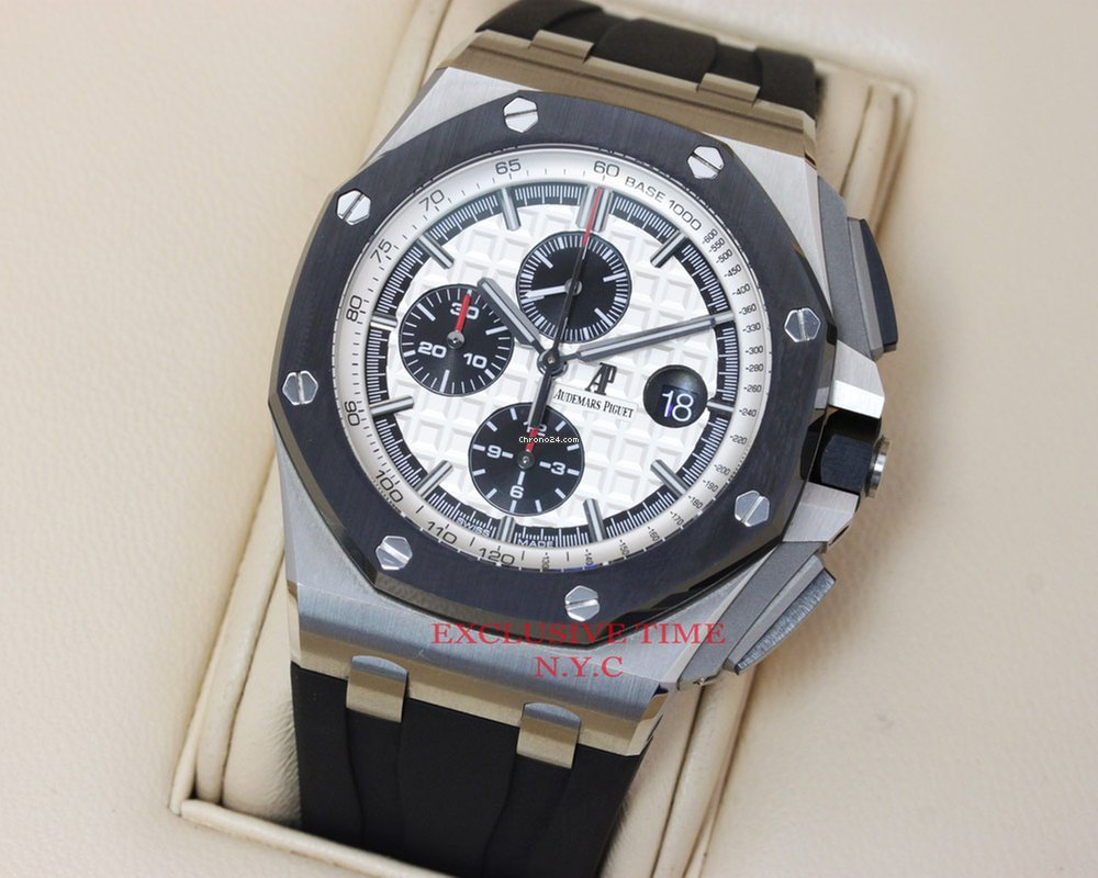 Audemars Piguet Royal Oak Offshore Stainless Steel 44mm... for Price on  request for sale from a Trusted Seller on Chrono24