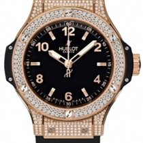Hublot Big Bang 38mm Quartz Gold Pavé