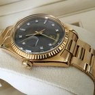 Rolex Oyster Day-Date Yellow Gold Grey Diamond Dial 18 krt /...