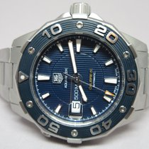 TAG Heuer Aquaracer 500M Calibre 5 Blau 43mm