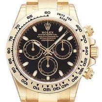 Rolex Cosmograph Daytona 18 kt Gelbgold 116508 Schwarz Index