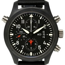 IWC Pilots Double Chronograph IW379901 Top Gun Edition...