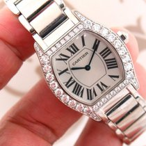 Cartier Tortue ref. WA5072W9 18K White Gold Diamond Ladies...