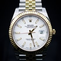 Rolex Datejust 41 Steel and Yelow Gold - Fluted Bezel - Jubilee