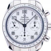 Omega Speedmaster Stahl Automatik Chronograph Armband Stahl...