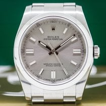 Rolex 116000 Oyster Perpetual SS Rhodium Dial (26298)