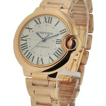 Cartier W6920068 Ballon Bleu 33mm Automatic in Rose Gold - on...