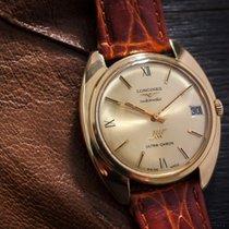 Longines Ultra -Chron Automatic 18k Gold Vintage