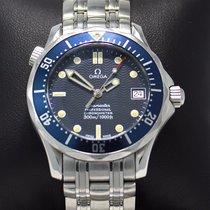 Omega Seamaster James Diver Midsize 300m Steel Blue Dial...
