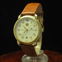 Maurice Lacroix Gold Mantel Automatic Herrenuhr Tag/nacht...