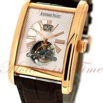 Audemars Piguet Large Date Tourbillon, Silver Dial - Rose Gold...