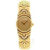 Bulgari Ladies  Parentesi 18k Yellow Gold Bangle 854893