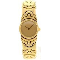 Bulgari Parentesi 18k Yellow Gold Bangle 854893