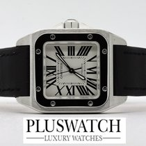 Cartier Santos 100 Medium Like New W20106X8 1683