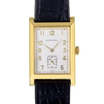 浪琴 (Longines) Mens 18K Yellow Gold Quartz Watch L5.662.6.73.2