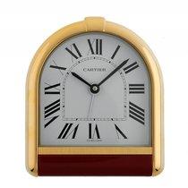 Cartier Sveglia Romane Tortue Reisewecker Tischuhr Pendulette...