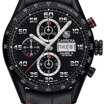 TAG Heuer Carrera Day Date Automatic Chronograph 43mm cv2a81.f...