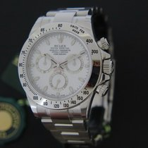 Rolex Cosmograph Daytona White Dial NEW LC135