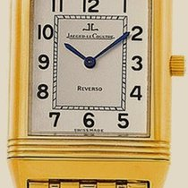 Jaeger-LeCoultre Reverso Mens 18K Yellow Gold Watch