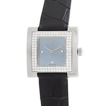 Audemars Piguet Ladies Square 18K White Gold Diamond Watch...