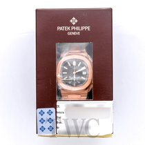Patek Philippe Nautilus Black 18k Rose Gold 40.5mm - 5980/1R-001