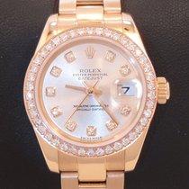 Rolex President 18k Rose Gold Diamond Dial & 1.15ct Bezel...