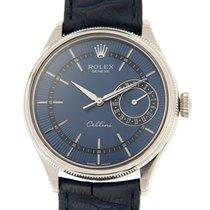 Rolex Cellini Series 18k White Gold Blue Automatic 50519BL