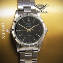 Rolex Air-King Stainless Steel Black Dial Mens Automatic Watch...