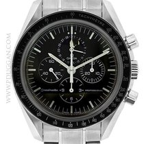 Omega stainless steel Speedmaster Moonwatch Chronograph