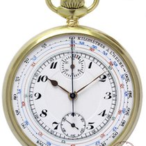 Valjoux Mans Pocket Watch Chronograph