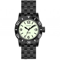 Nauticfish Xtreme Expedition I 2000M Stahl Black PVD Automatik...