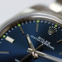 Rolex Oyster Perpetual 39 114300 blue dial