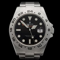 롤렉스 (Rolex) Explorer II Orange Hand XL Stainless Steel Gents...