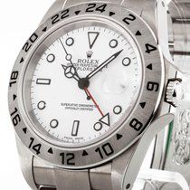 Rolex Oyster Perpetual Explorer II Automatik Stahl an Oysterba...