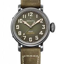 Zenith Pilot Type 20 Extra Special Stainless Steel Men's...
