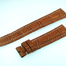 Breitling Band 19mm Croco Brown Marron Strap Ib19-20