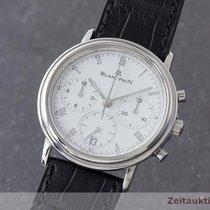 Blancpain Villeret Chronograph Herrenuhr Stahl Automatik Cal....
