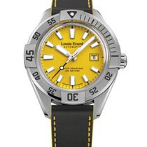 Louis Erard SPORTIVE  CLOCK FACE YELLOW 69107AA08