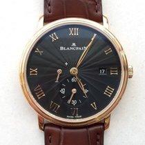 Blancpain VILLERET ULTRAPLATE  BLACK DIAL 6606363055B