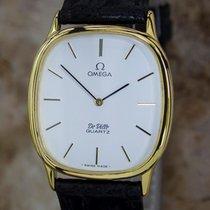Omega DeVille 1365 Mens Stainless Steel Quartz Swiss Made...