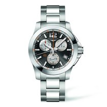 Longines Conquest 1/100th Roland Garros L37004796