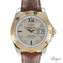 Breitling Windrider Cockpit Rose Gold/Steel MOP Dial with...