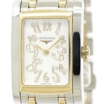 론진 (Longines) Dolce Vita Diamond 18k Pink Gold Steel Watch...