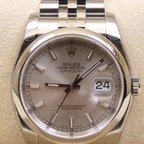 Rolex Datejust, Ref. 116200 - silber Index Zifferblatt/Jubilee...