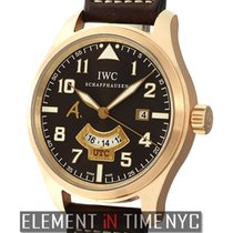 IWC Pilot Collection Saint Exupery 18k Rose Gold GMT 44mm Ref....