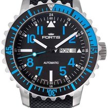 Fortis B-42 Marinemaster Day Date Blue 670.15.45 LP01