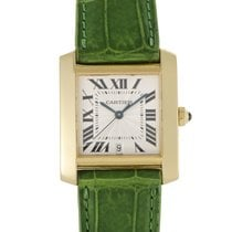 Certified Pre-Owned Cartier Tank Francaise Mens Automatic...