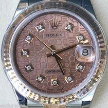 Rolex Datejust Ladies Two Tone Steel & Rose Gold Jubilee...