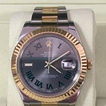 Rolex Datejust II 41 mm. Grey Green Dial